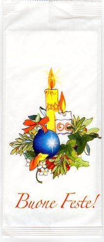 candele portaposate di carta kraft