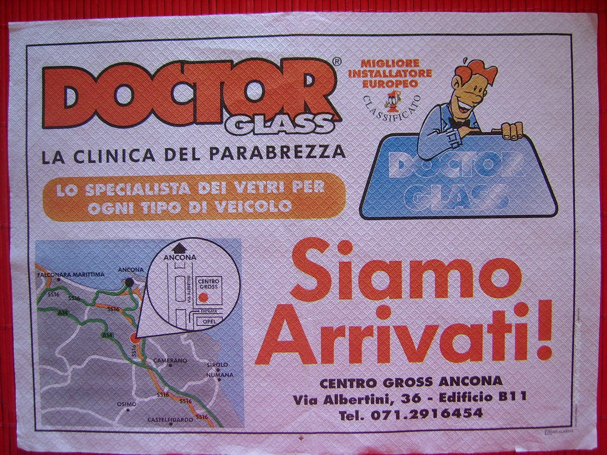 stampa tovagliette Ancona
