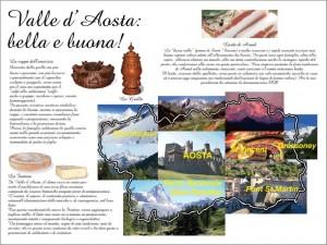 Valle Aosta tovaglietta