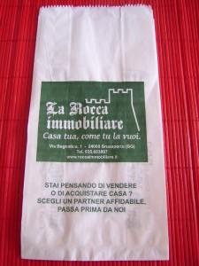 sacchetto pane kraft personalizzato
