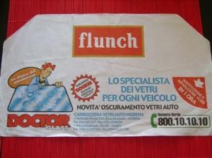 tovaglietta personalizzata flunch doctor glass