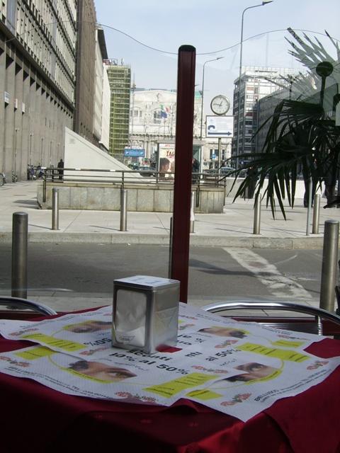 tovagliette bar Milano