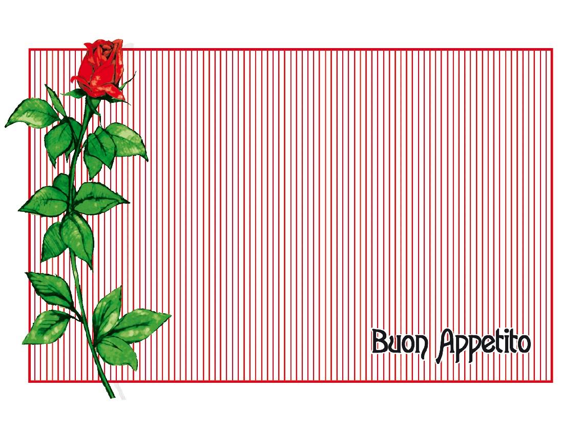 san valentino tovagliette rosa innamorati