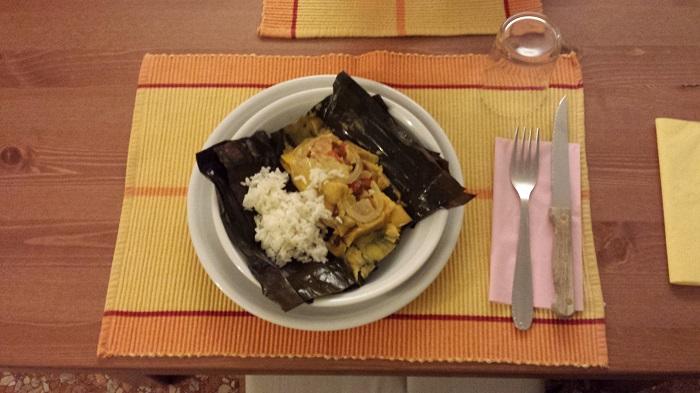 tovagliette cena venezuelana