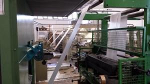 tovagliette carta linea produzione
