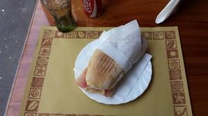 Tovaglietta carta paglia per paninoteca