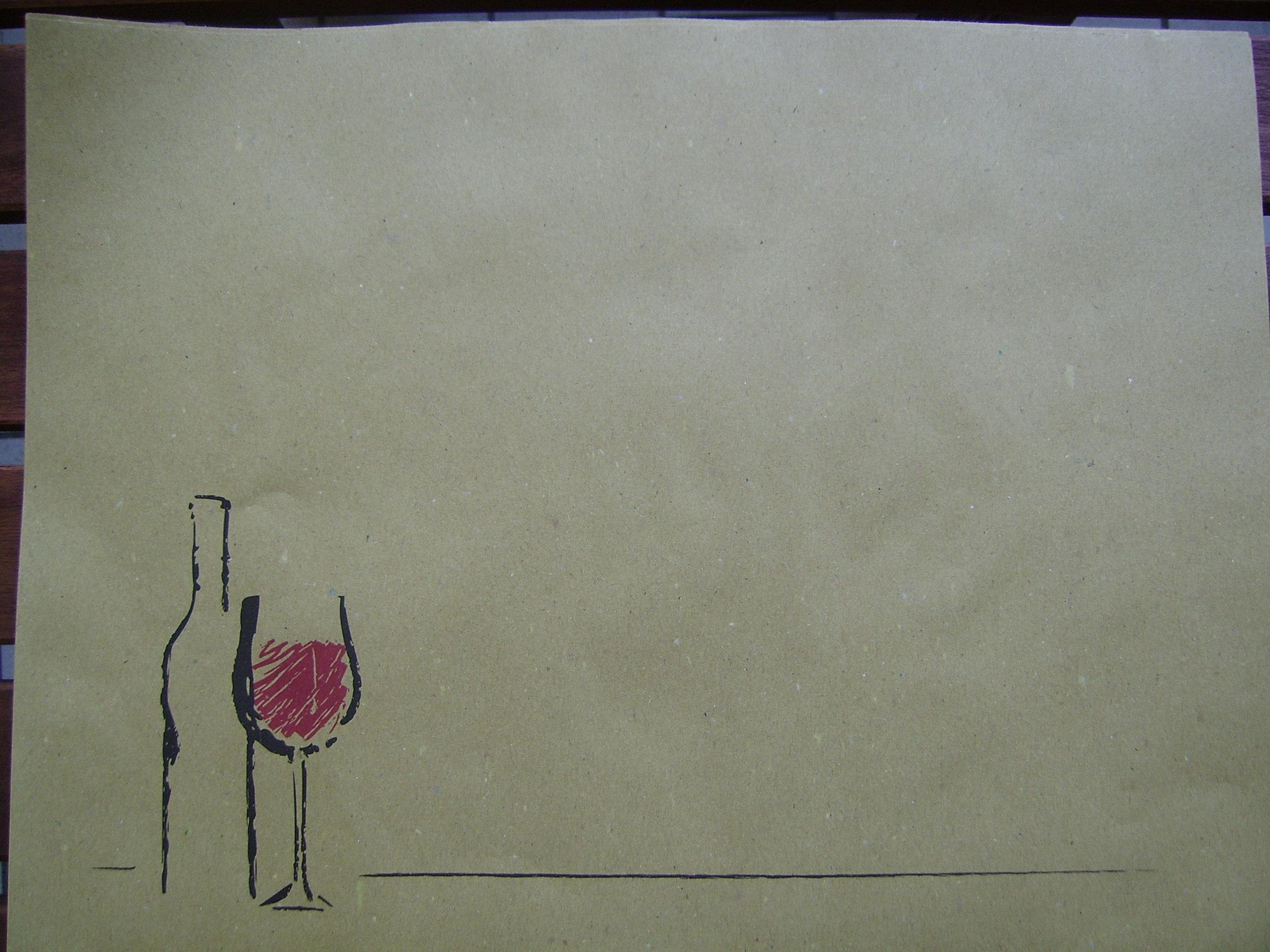 tovagliette carta paper placemats