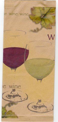 wine portaposate carta paglia
