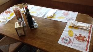 tovaglietta personalizzata di carta