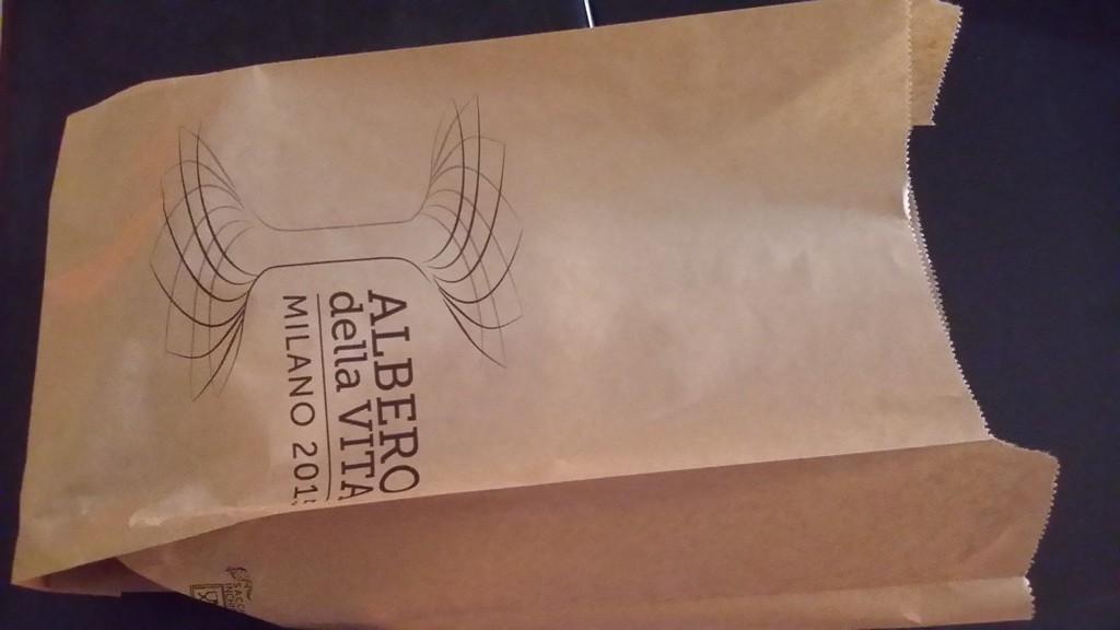 albero vita expo sacchetto busta del pane personalizata inchiostri certificati per alimenti