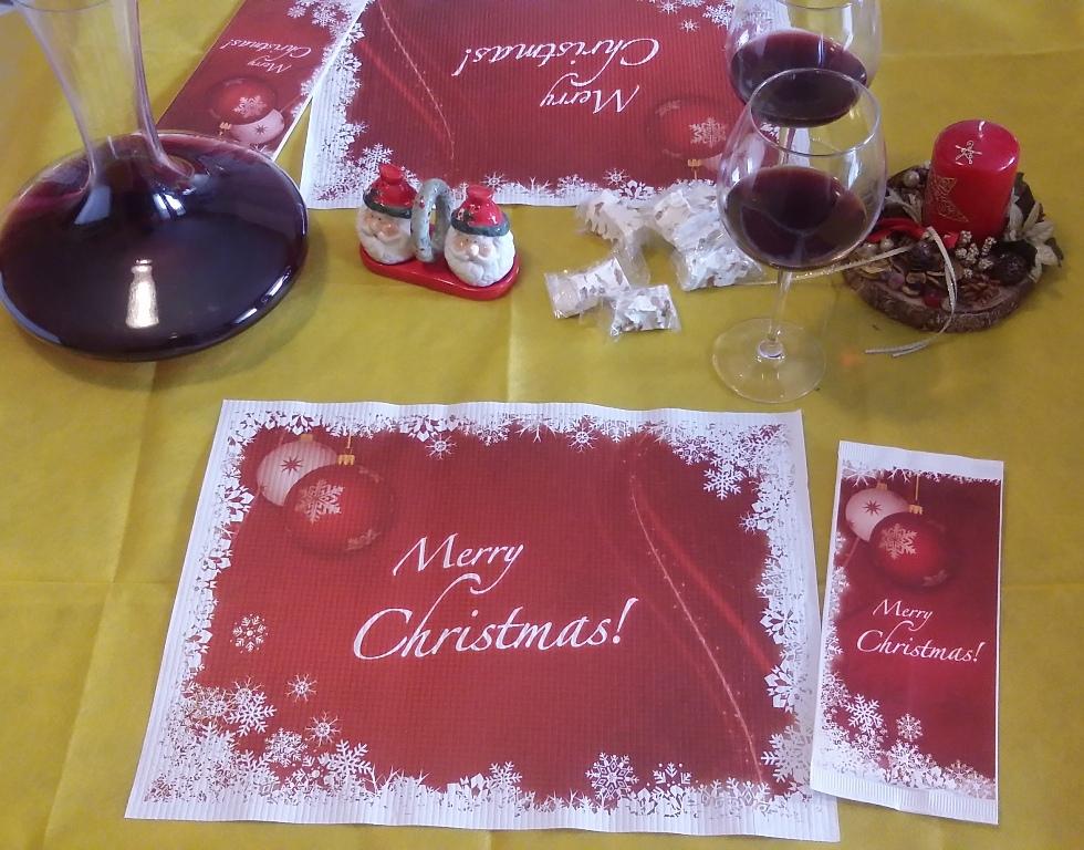 Merry Christmas tovagliette