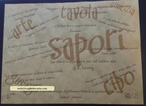 carta paglia SAPORI