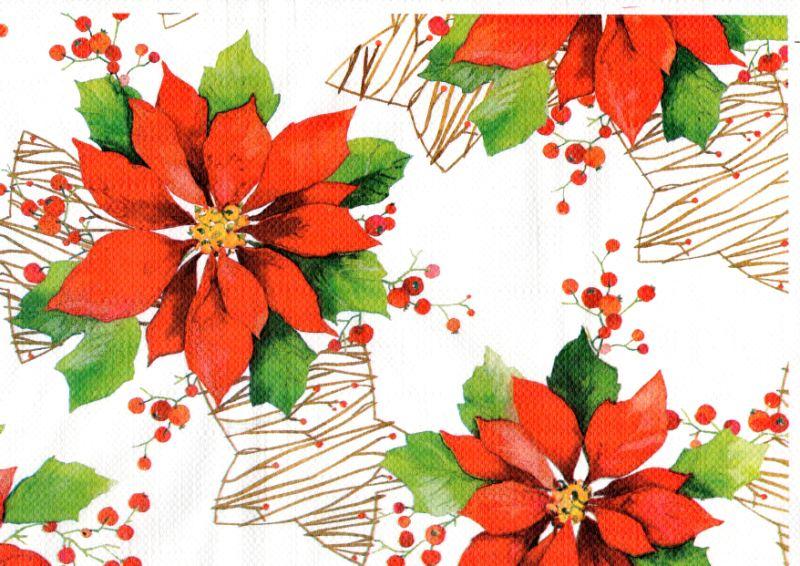 Tovaglietta monouso di carta per Natale