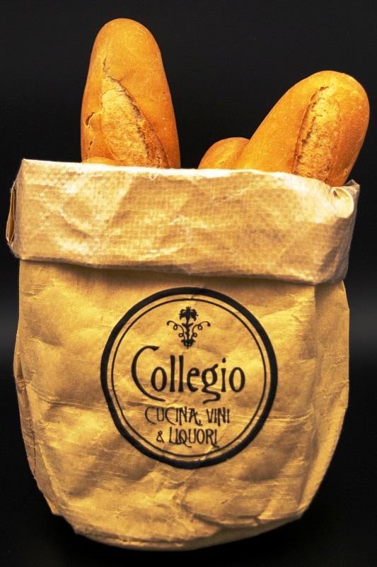 sacchetto busta del pane da tavolo